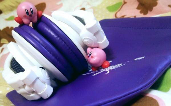 Reloop RHP-10 Purple Milk(折りたたんだ状態)